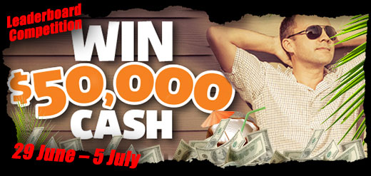 $50,000 Summer Cash Leaderboard Competition